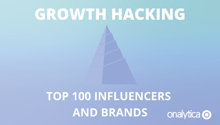 Onalytica - Growth Hacking Top 100 Influencers and Brands
