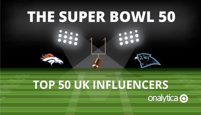 Onalytica - The Super Bowl 50 Top 50 UK Influencers