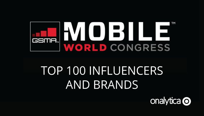 Onalytica - MWC16 Top 100 Influencers and Brands