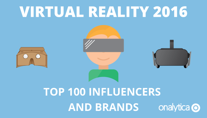 Onalytica - Virtual Reality 2016 Top 100 Influencers and Brands