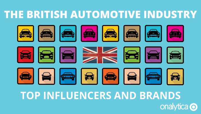 Onalytica - The British Automotive Industry - Top Influencers and Brands