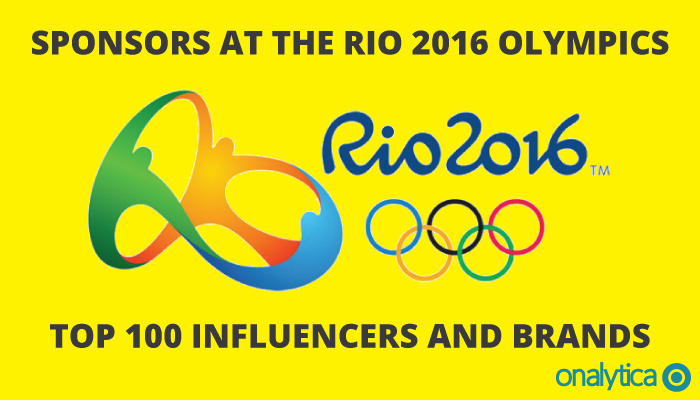 Onalytica - Sponsors at the Rio 2016 Olympics Top 100 Influencers and Brands