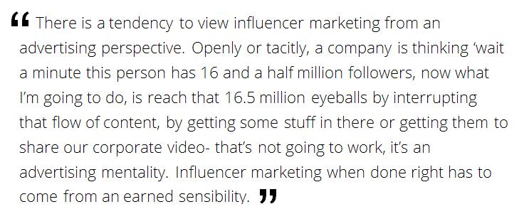 influencer marketing as advertising
