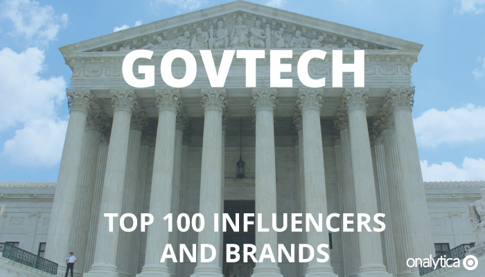 Onalytica - GovTech Top 100 Influencers and Brands