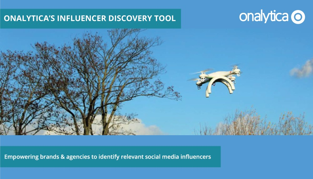 Onalytica Welcome to Influencer Discovery!