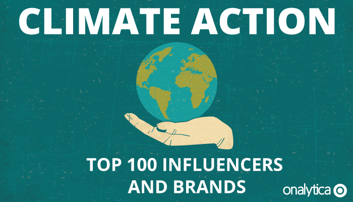 Onalytica - Climate Action Top 100 Influencers and Brands