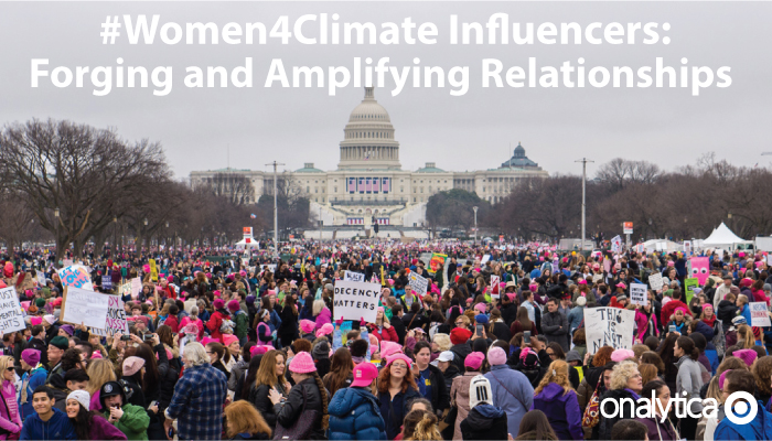 Onalytica - Women4Climate: Forging Relationships and Amplifying Communitcations