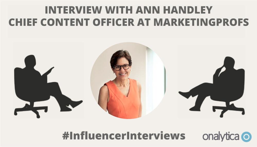 Onalytica Interview with Ann Handley