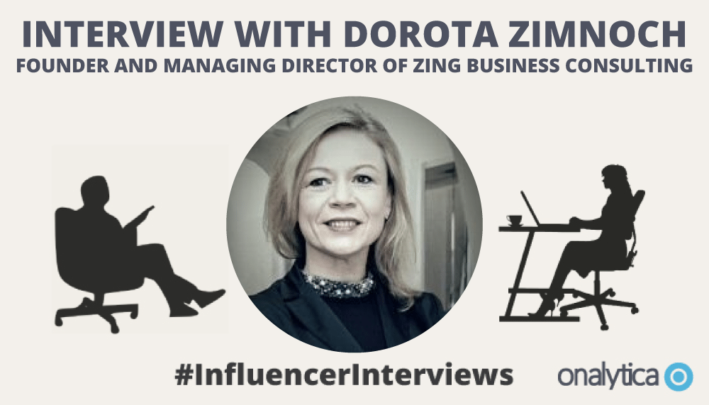 Onalytica Interview with Dorota Zimnoch