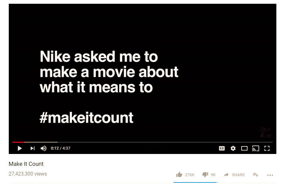 Casey Neistat Make it Count