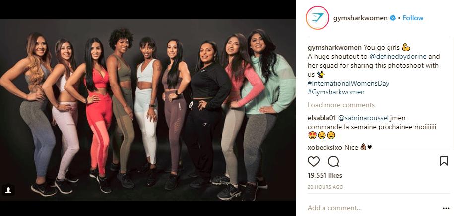 gymshark influencers