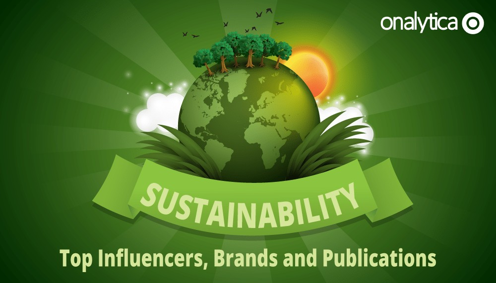 Onalytica-Sustainability-top influencers brands and publications