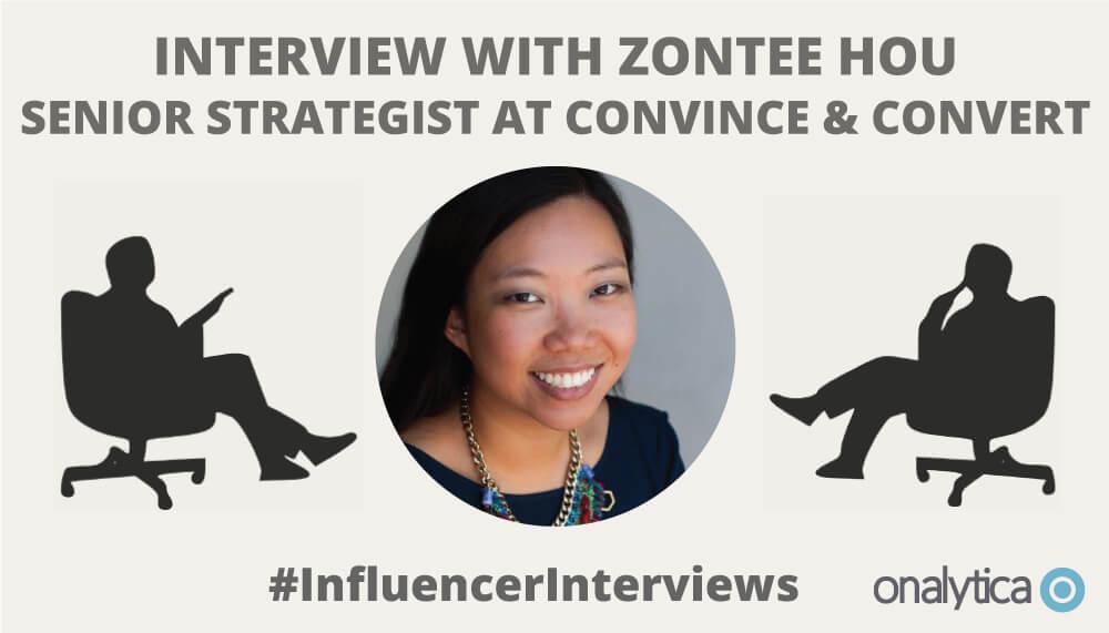 Onalytica Interview Zontee Hou