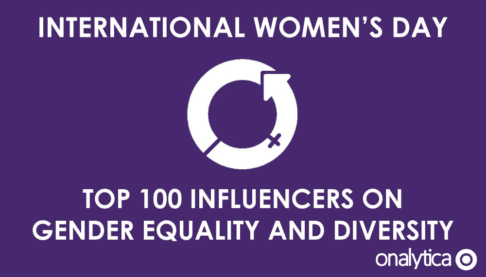 International Women's Day – Top 100 Influencers on Gender Equality and Diversity